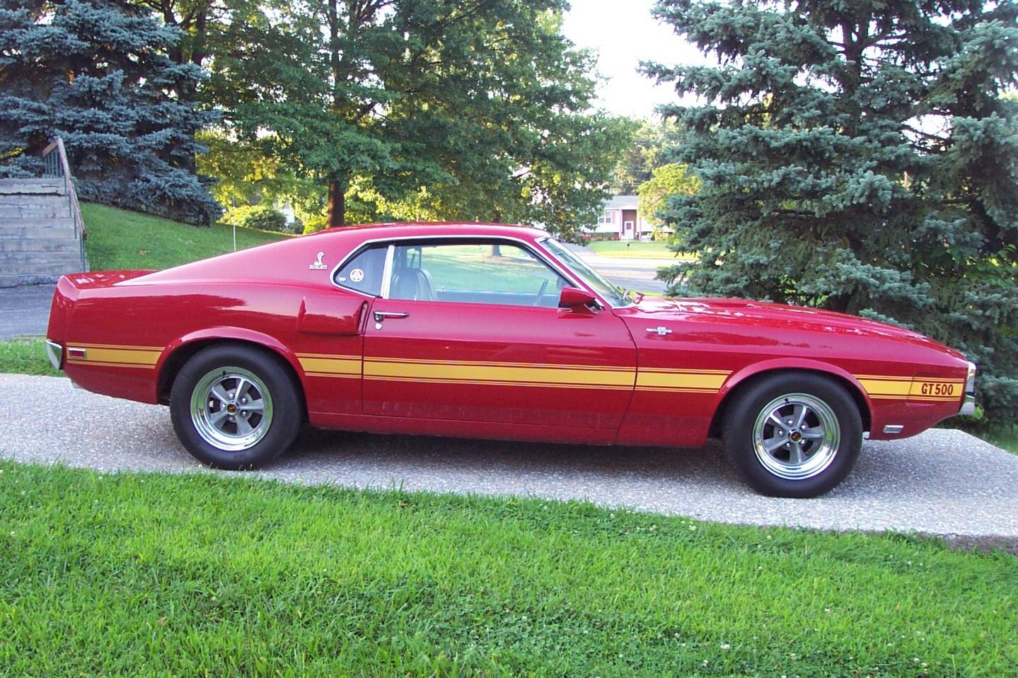 Bill Hood Ford >> '69 GT500 # 837